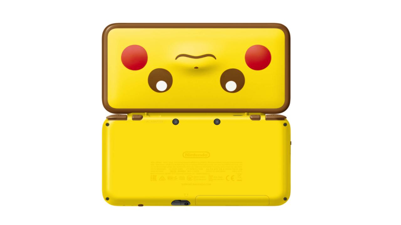 Consola 2ds Xl: Pikachu Edition - 2ds