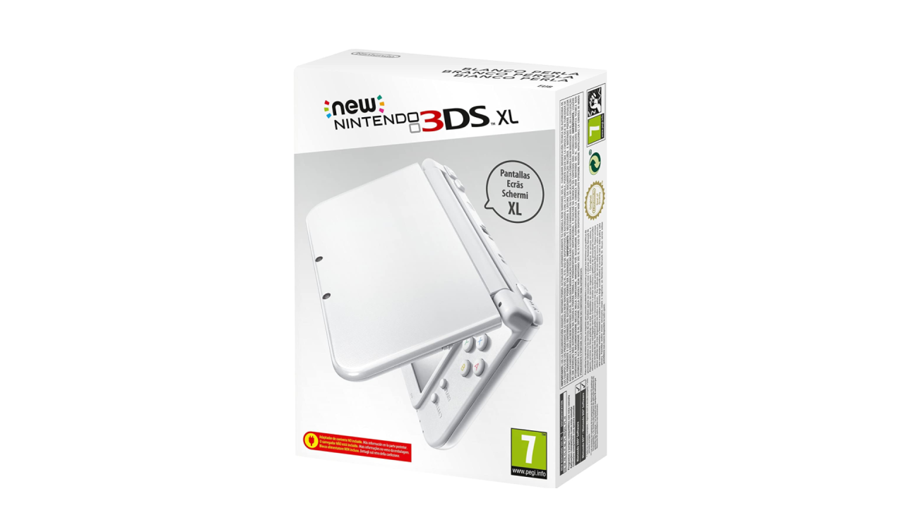 Consola  New Nintendo 3ds Xl Pearl/white  3ds
