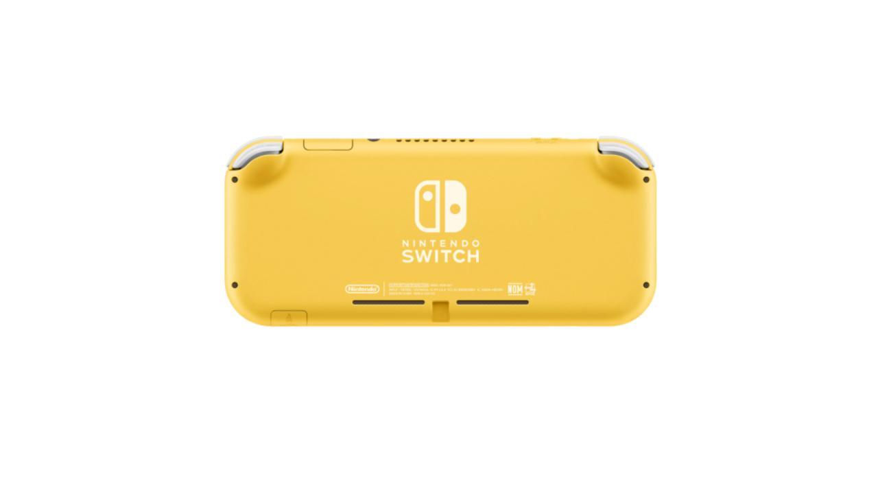 Consola Nintendo Switch Lite  Yellow