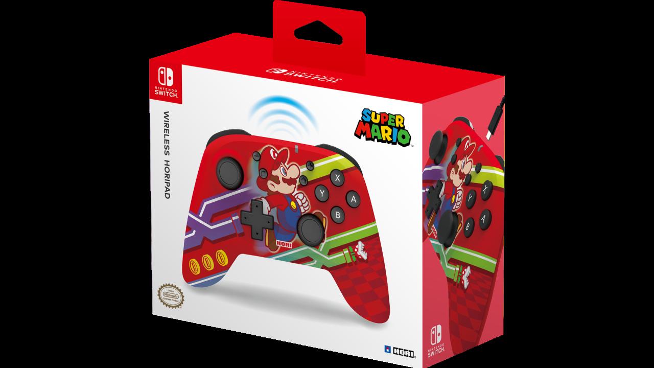 Controller Hori Wireless Horipad Super Mario pentru Nintendo / Nintendo Switch   NSW