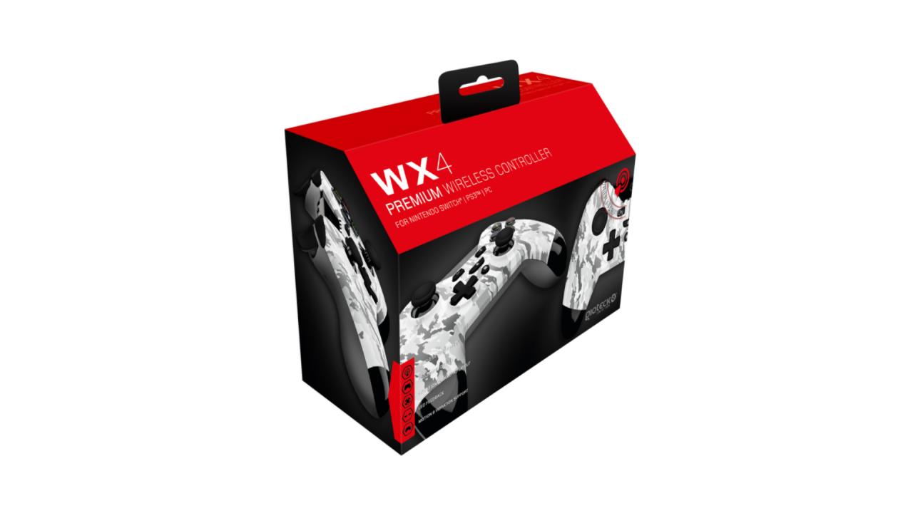 Gioteck Wx 4 Wireless Bt Controller Camo pentru Nintendo / Nintendo Switch   NSW