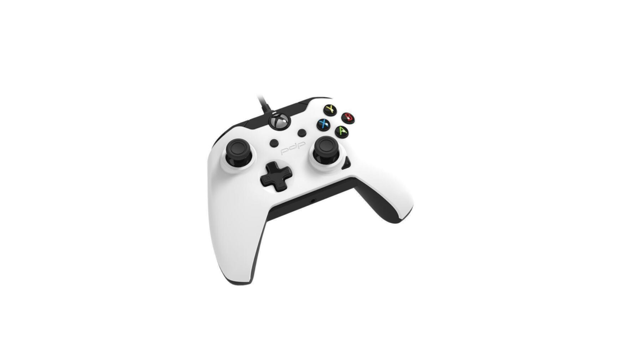 Pdp Wired Controller  White Pentru Xbox One