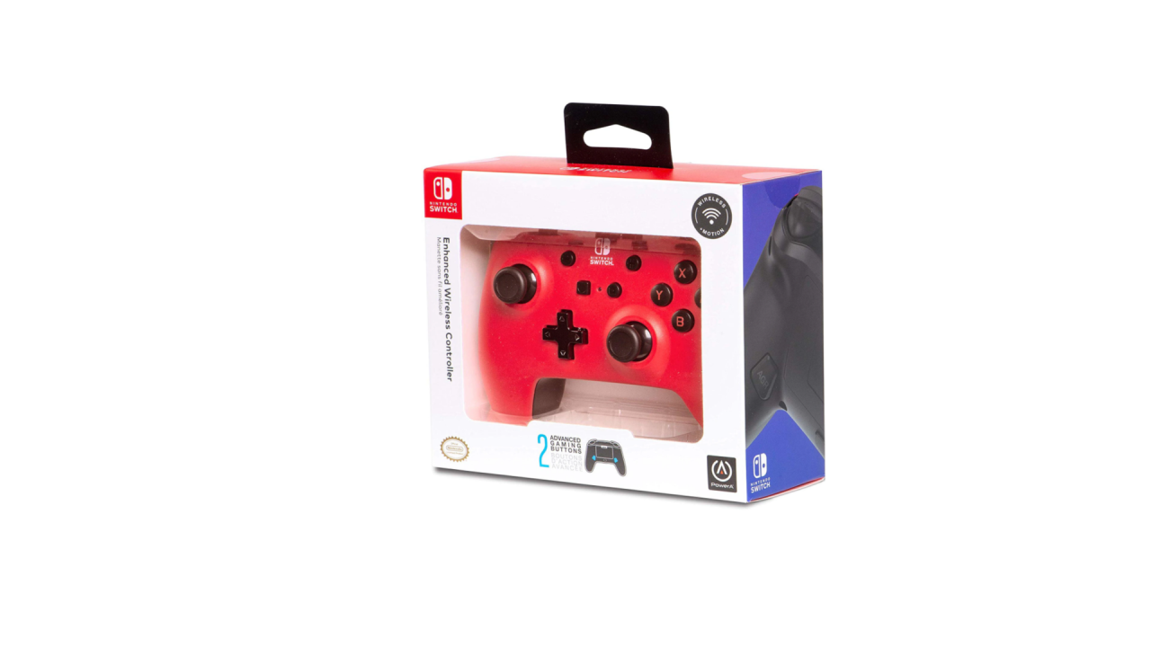 Powera Enhanced Wireless Controller Red pentru Nintendo / Nintendo Switch | NSW