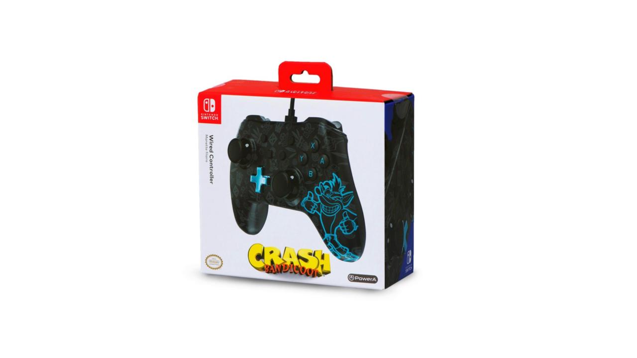 Powera Wired Controller Crash Bandicoot pentru Nintendo / Nintendo Switch   NSW