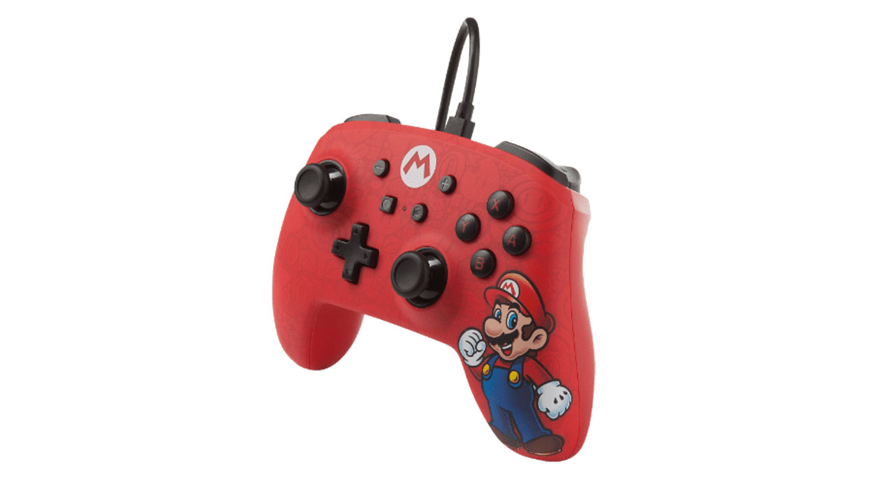 Powera Wired Controller Mario pentru Nintendo / Nintendo Switch   NSW
