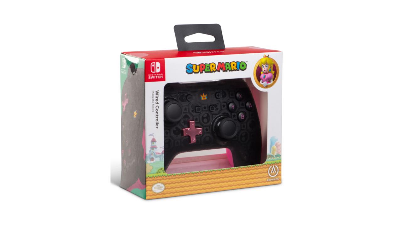 Powera Wired Controller Shadow Peach pentru Nintendo / Nintendo Switch | NSW