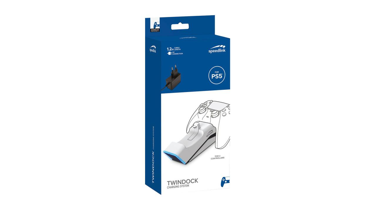Statie De Incarcare Dubla Speedlink pentru PlayStation / PlayStation 5   PS5