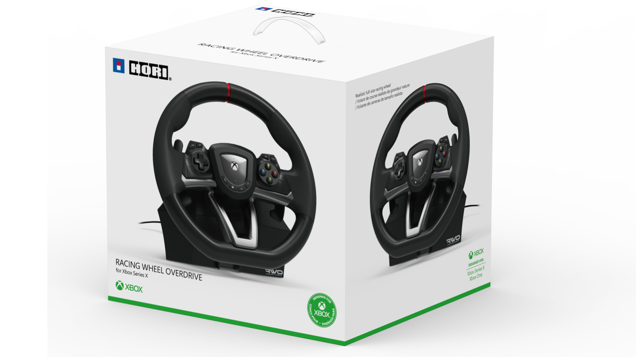 Volan Hori Racing Wheel Overdrive Xbox pentru XBOX SERIES X | XBOX X / Calculator | PC