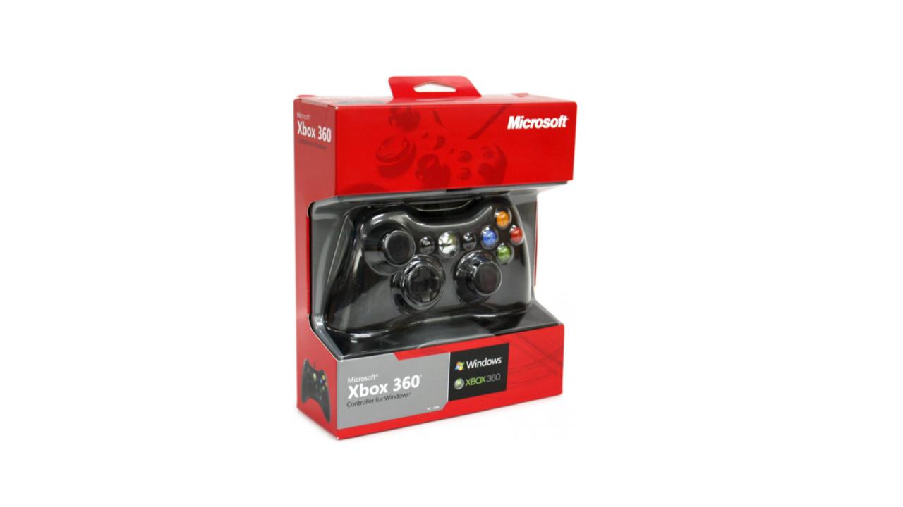 Wired Controller For Windows Black Pentru Xbox 360