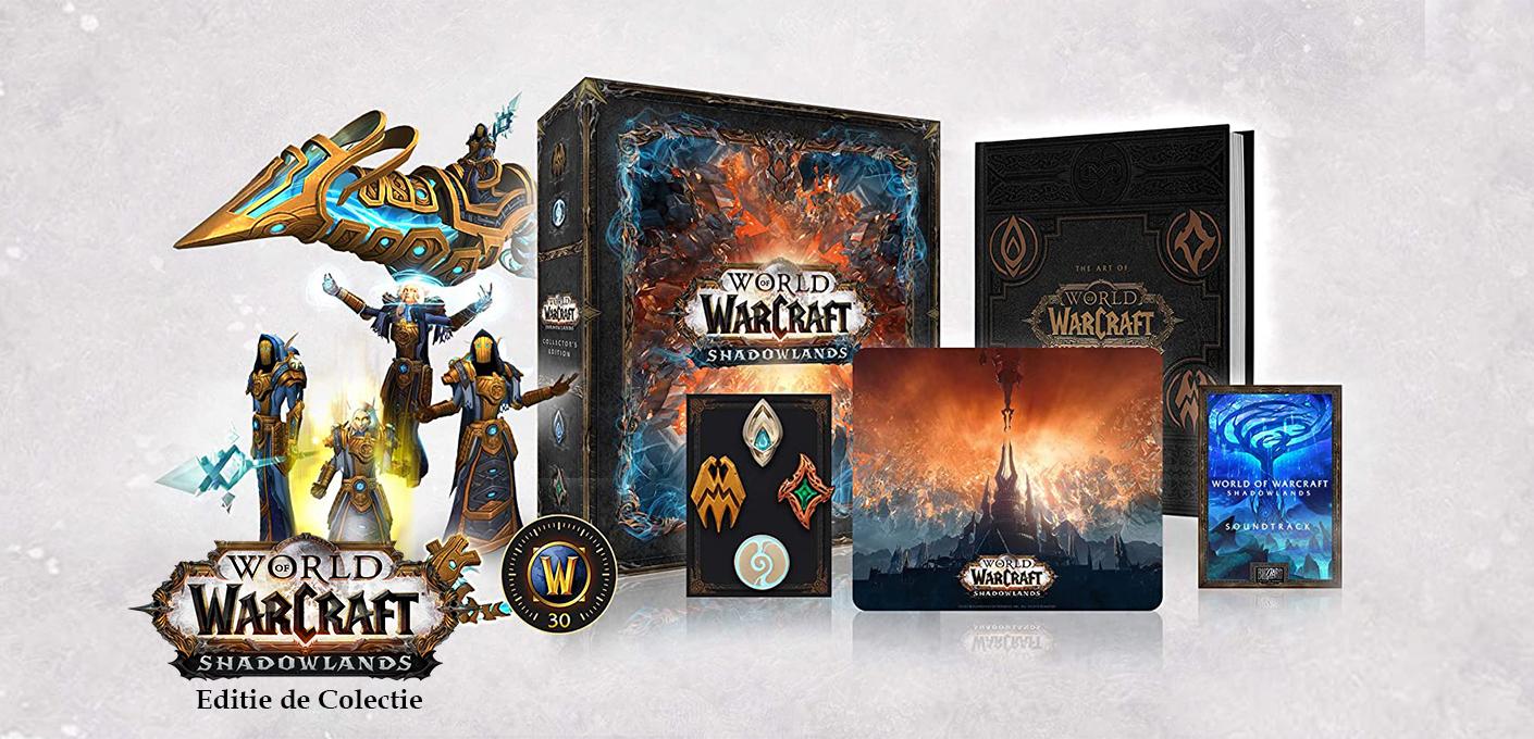 Word of Warcraft - Shadowlands Editie de Colectie
